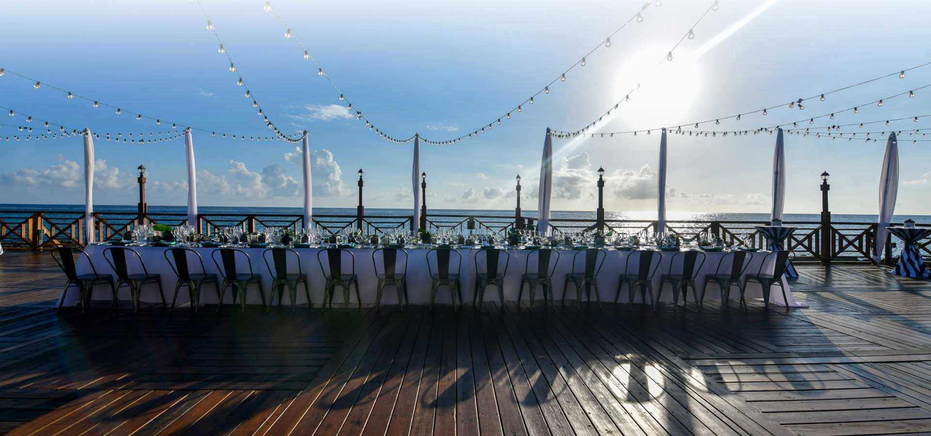 Cayman's Premium Waterfront wedding venue