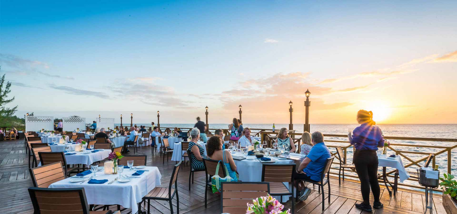 Cayman's Premium Waterfront Dining Restaurant