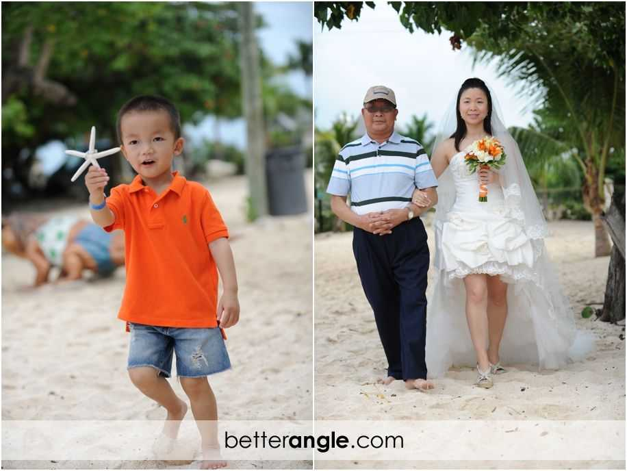 Wan&Jason Cayman Beach Wedding007