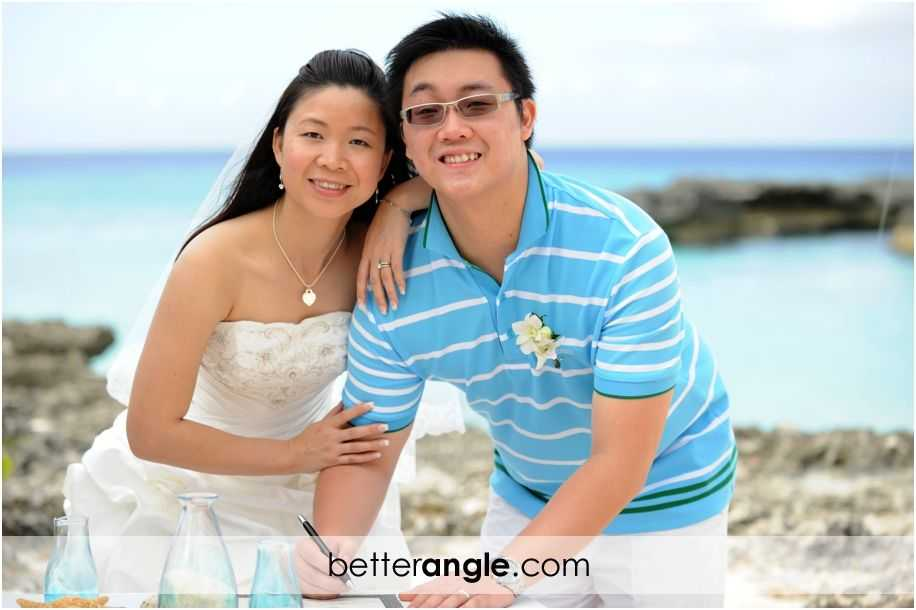 Wan&Jason Cayman Beach Wedding015