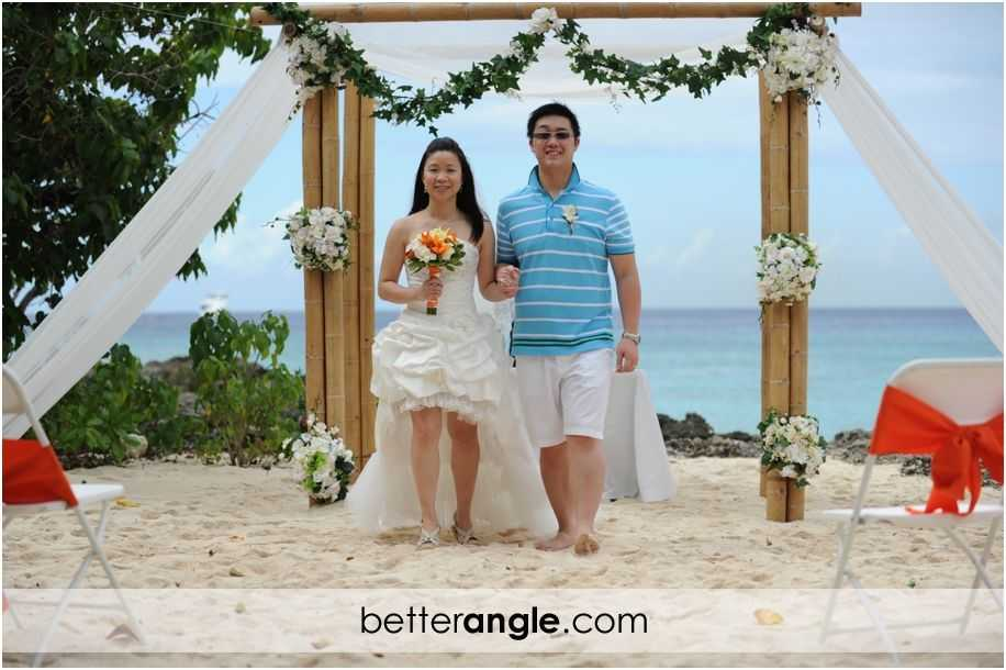 Wan&Jason Cayman Beach Wedding017
