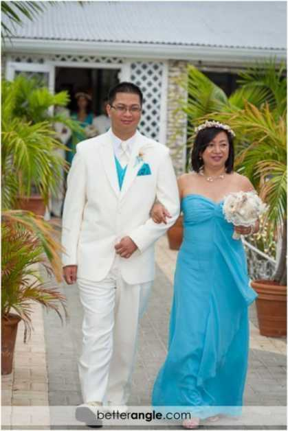 Caribbean Themed Wedding At The Grand Old House Image - 10
