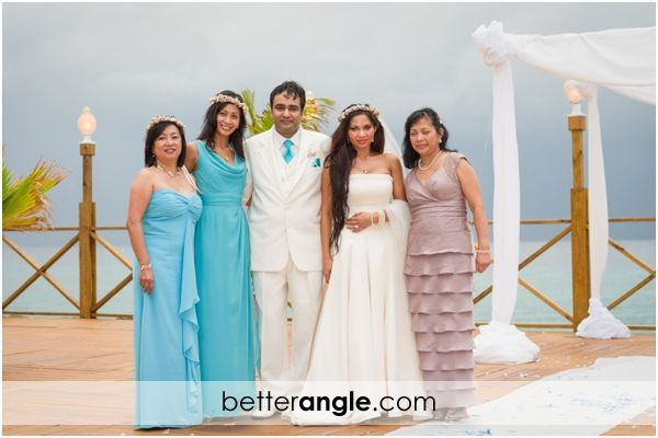Caribbean Themed Wedding At The Grand Old House Image - 1