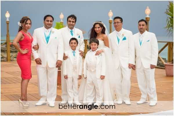 Caribbean Themed Wedding At The Grand Old House Image - 2