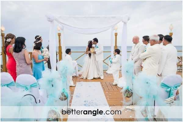 Caribbean Themed Wedding At The Grand Old House Image - 8