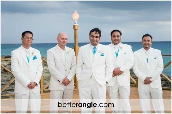 Caribbean Themed Wedding At The Grand Old House Image - 9