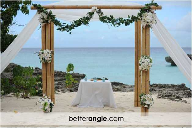 Grand Old House Beach Wedding Image - 3