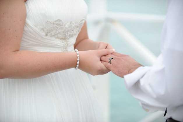 Hayli And Alex  Intimate Wedding At Sun Set Image - 5