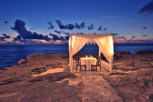 Inquire for the set up of your most romantic spot in Cayman   info@grandoldhouse.com