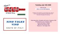 WINE: NINO talks VINO - SOUTH of ITALY
