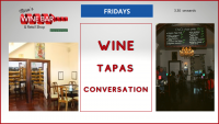 Wine, Tapas & Conversation