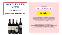 NINO TALKS VINO - with a TWIST!  ~ BLIND ~