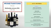 Winetasting - Italia