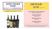 NINO talks VINO - Sicily & Sardegna