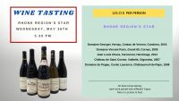 Winetasting - Rhone Regions star
