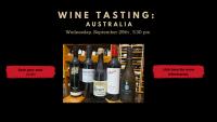 Wine Tasting AUSTRALIA