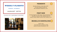 Weekly Flights