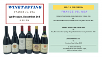 WINETASTING | FRANCE  vs. USA