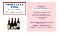 NINO TALKS VINO - CALIFORNIA