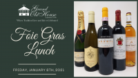 FOIE GRAS LUNCH at Grand Old House