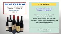 WINE TASTING - Classic California