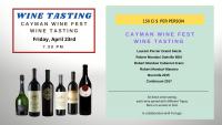 WINE TASTING - as part of Cayman Wine Fest