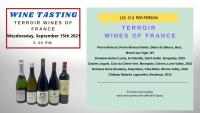 WINE TASTING: TERROIR WINES OF FRANCE