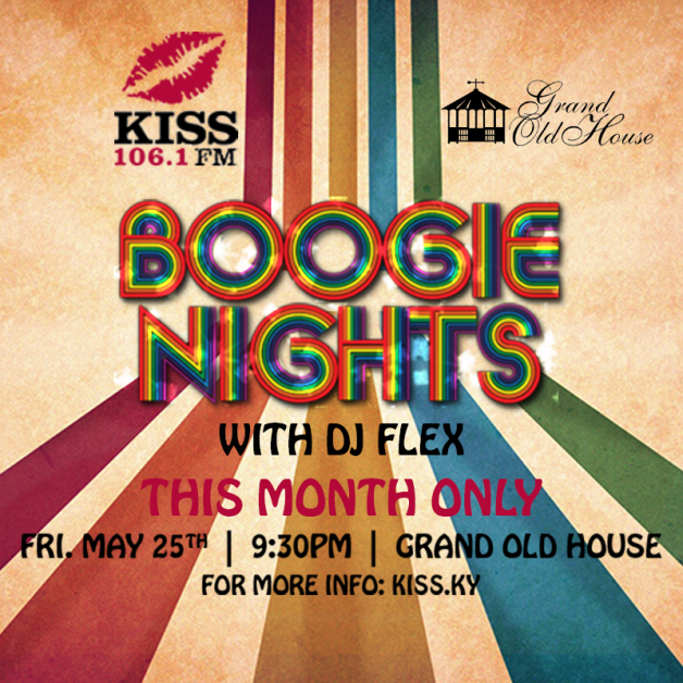 BOOGIE NIGHTS - one time event!!!