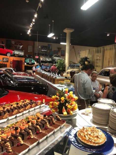 Catering in Motor Museum