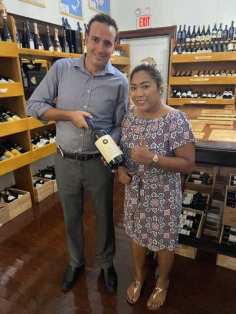 Congratulations to our winner for the Magnum Bottle of Sassicaia!