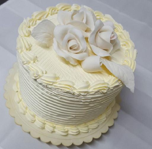 Textured Rose Cake